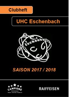 Clubheft Saison 2017/2018